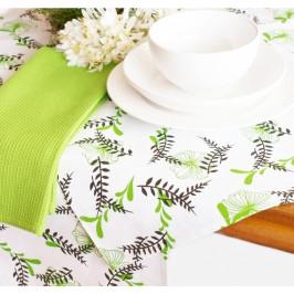 Forbyt, Obrus bavlněný, Zelený, 90 x 90 cm