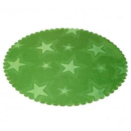 Forbyt, Obrus s nešpinivou úpravou, Hviezdičky, zelený 100 x100 cm