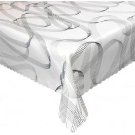 Forbyt, Obrus s nešpinivou úpravou, Gracie, čierna 75 x 75 cm