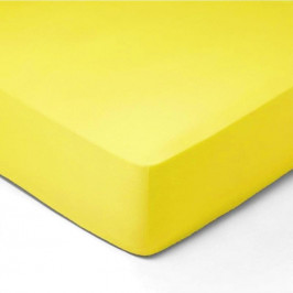 Forbyt, Prestieradlo, Jersey, svetlo žltá 70 x 140 cm
