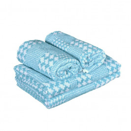 Forbyt, Uterák alebo osuška bavlnená, DS 021, modrý 50 x 95 cm