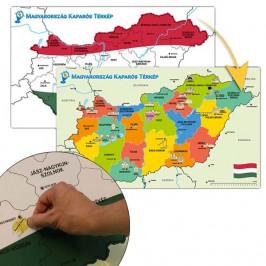 Stieracia mapa Maďarska