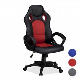 Gamer stolička v 3 farbách- basic