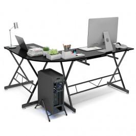 Písací stôl v tvare L