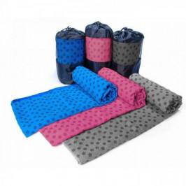 Protišmykový uterák na jogu s prenosnou taškou navyše