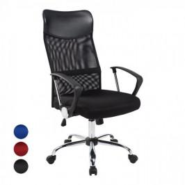 Ergonomické kancelárske kreslo s vysokou opierkou,  3 rôzne farby