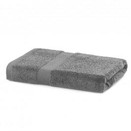 Bavlnený uterák DecoKing Mila 70 × 140 cm sivý