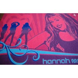 Detský koberec HANNAH MONTANA 95 × 133 cm ružový