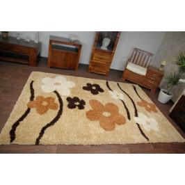 Detský koberec Pretty Flowers béžovo-žltý