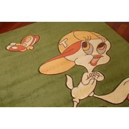 Detský koberec TWEETY zelený