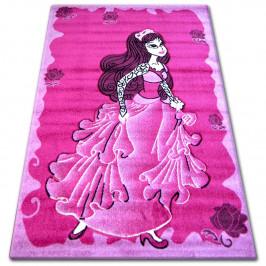 Detský koberec Vila ružový
