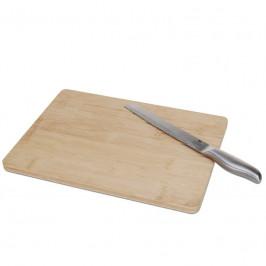 Doska na krájanie s nožom 36 × 26 cm