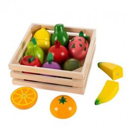 Dřevěné ovoce s magnety