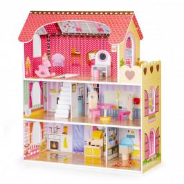 Dřevěný domek pro panenky Rezidence Kalifornie EcoToys