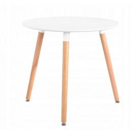 Jídelní stolek 60cm Noah bílý