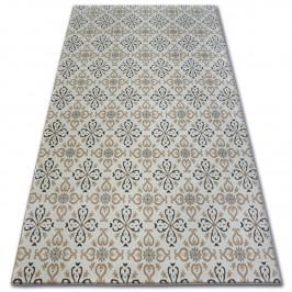 Kusový koberec ARGENT - W4949 kvety, krémový