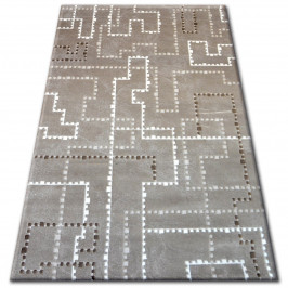 Kusový koberec CARMINA Tolda hnedý