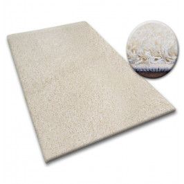 Kusový koberec SHAGGY Izebelie 5 cm krémový