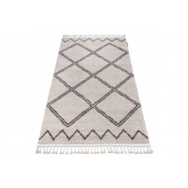 Kusový shaggy koberec BERBER ASILA krémový