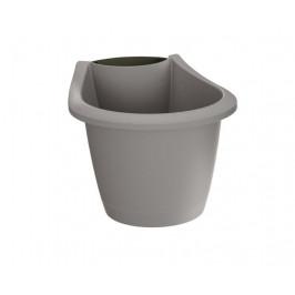Květináč Respana Spout šedý