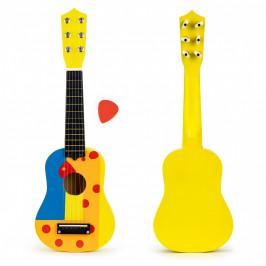 Kytara pro děti ECOTOYS žlutá