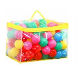 Plastové míčky do bazénku - 100 kusů
