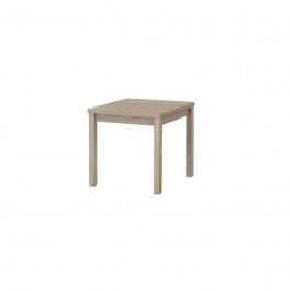Rozkládací stůl Roberto 80-160x80 cm hnědý