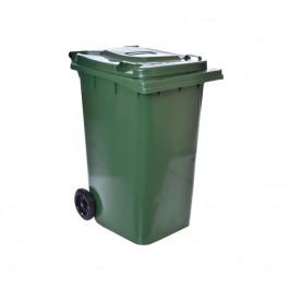 Smetiak na odpad 240 L - zelený
