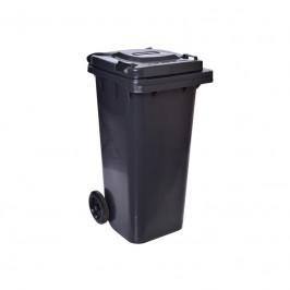 Smetiak na odpady 120 L - čierny