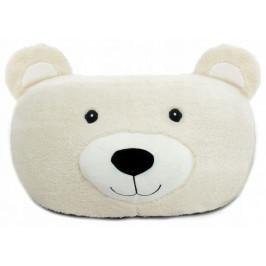 Taburet plyšový - medveď