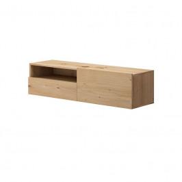 Závěsný TV stolek Moyo II 120 cm dub artisan