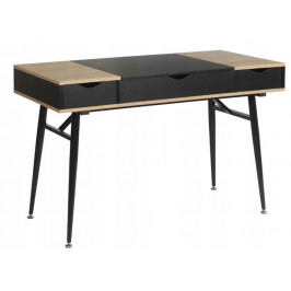 Písací stôl Limba sonoma/čierny