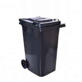 Smetiak na odpady 240 L - čierny