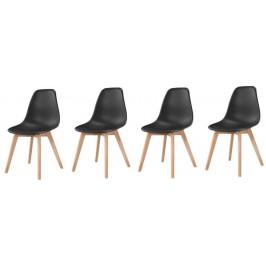 Sestava 4  židlí Roma