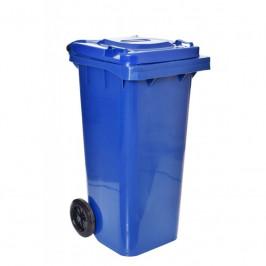 Popelnice na odpad 120L -modrá