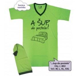Nočná košeľa s čiapočkou - ...šup do postele