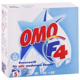 Omo F4 - Prášok na pranie bielej bielizne 387g/5 praní