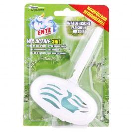 WC Ente WC Active 3v1 - Závesný čistič WC Lesná sviežosť 40 g