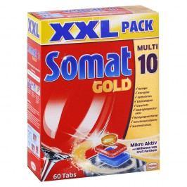 Somat Gold Multi 10/12 - tablety do umývačky riadu XXL balenie – 60 ks