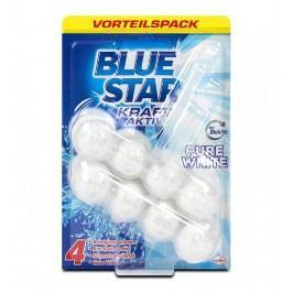 Blue Star Kraft Aktiv - Závesný čistič Biela toaleta WC 2x50g