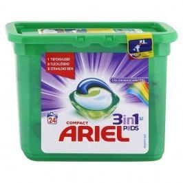 Ariel kapsule na pranie (3v1) na farebné - 24 ks