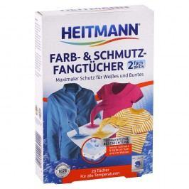 Heitmann - obrúsky do prania pohlcujúce farbu a nečistotu 20ks