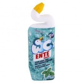 Ente 5v1 mentol - gélový čistič WC - 750 ml