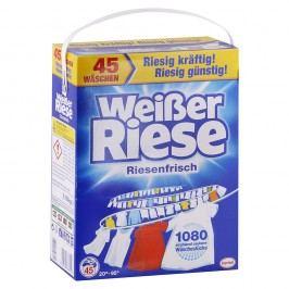 Weißer Riese – prášok na pranie bielej bielizne – 3,15 kg/45 praní