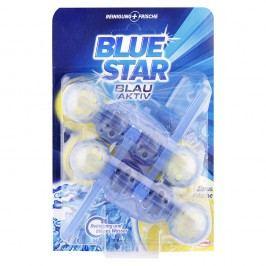 Blue Star Blau Aktiv - Závesný čistič citrusová sviežosť WC 2x50g