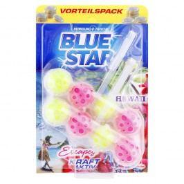 Blue Star Kraft Aktiv - Závesný čistič WC Hawaii 2x50g