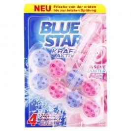 Blue Star Kraft Aktiv - Závesný čistič kvetinová sviežosť WC 2x50g