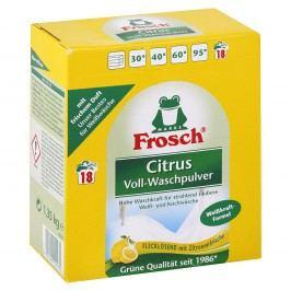 Frosch Citrus, prášok na pranie - 1,35 kg/18 praní
