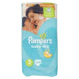 Pampers - Baby-Dry 3 MIDI (5-9kg) 60ks