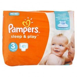 Pampers - Sleep & Play 3 MIDI (5–9kg) 41ks